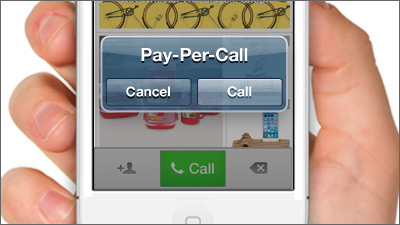 Pay per call future