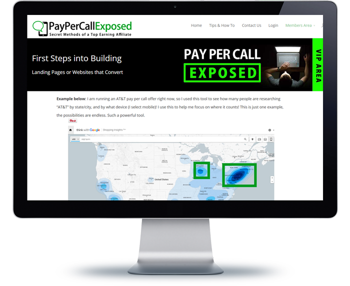 pay per call exposed affiliate marketing guide ebook