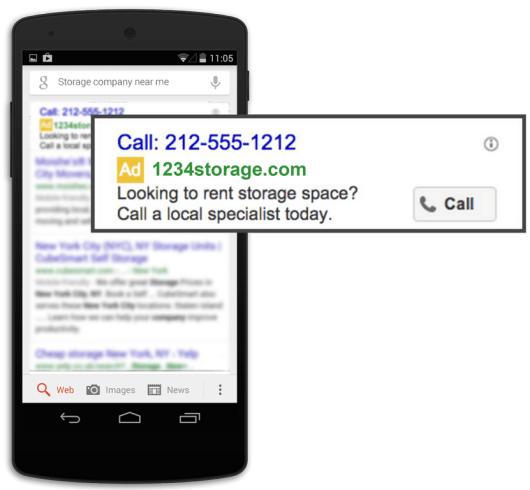 Call ad